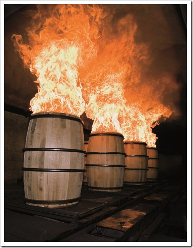 Charring of the Casks