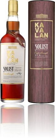 Tasting Kavalan Solist Single Cask Strength Sherry Cask