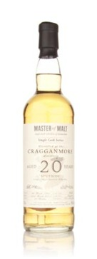 Master of Malt Cragganmore 20 Year Old 1991 – Single Cask , (274 btl.)