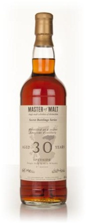 Tasting Master of Malt Speyside 30 year 4th edition
