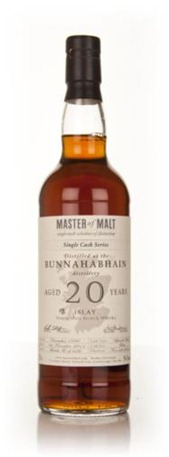 Tasting Master of Malt Bunnahabhain 20 Year Old 1990 Single Cask