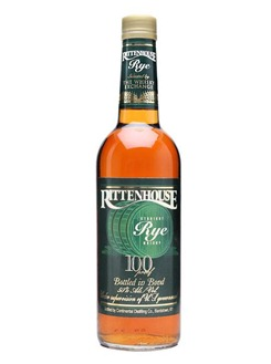 Some Rye : Rittenhouse 100 proof bottled for The Whisky Exchange