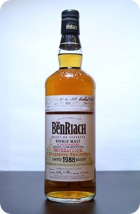 The Benriach 'Generations' 1988  Gaja barolo Cask #4423 (Singapore)