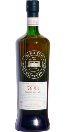 Mortlach SMWS, 76.83 'Cocktails after Rugby' 15 yo vintage 1995