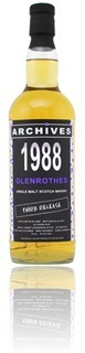 Glenrothes 1988 Archives (WhiskyBase)