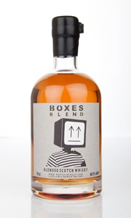 "A new Blended whisky ""Boxes Blend"" created by MoM is released."