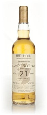Tasting Braes o' Glenlivet 21 Year Old – Single Cask (MoM)