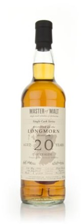 Longmorn 20 Year Old – Single Cask (Master of Malt)