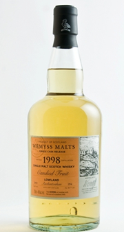 Wemyss malts Candied Fruit–1998 Auchentoshan