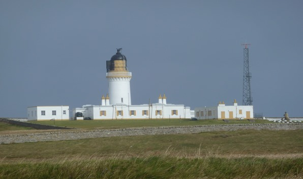 Noss Head Lighthouse in Caithness Scotland