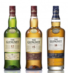 The Glenlivet Vertical (12,15,18 year olds)