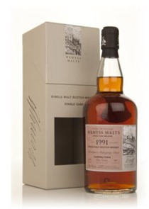 "Wemyss Malts Glen Scotia 1991 ""Merchant's Mahogany Chest"""