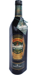 Glenfiddich  15 yo Cask strength (older bottle)
