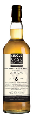 Single Cask Nation Laphroaig 6 yo