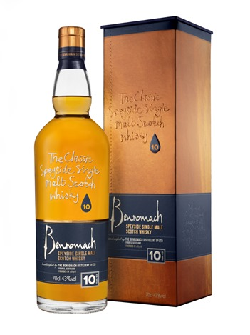 New Packaging Benromach 10 Years Old