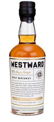 Westward Small Batch Oregon Straight Malt Whiskey
