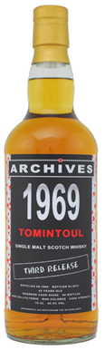 Quick dram : Tomintoul 1969 3rd Release (Archives) – WhiskyBase