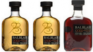 A trio of Balblair 2000 single casks–#Millennium tasting
