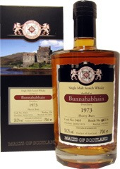 Malts of Scotland Bunnahabhain 1973