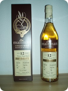 Port Charlotte 12 year old–The Maltman