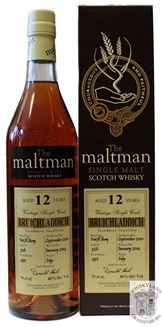 Bruichladdich 12 yo First Fill Sherry cask (The Maltman)