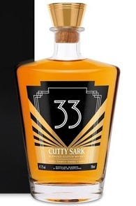 Blended Glory : Cutty Sark 33 yo–'Art Deco' edition – Review