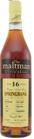 Quick dram: Springbank 16 (port cask first fill)–The Maltman