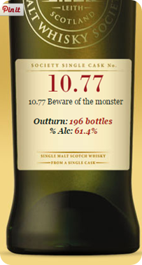 SMWS 10.77 'Beware of the monster' , Bunnahabhain 2007