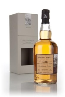 Wemyss Malts Single Grain 'Caribbean Crème' , Invergordon 1988