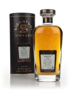 Mortlach 1990 cask 6074 [Signatory vintage] – Review