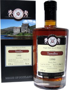 Tamdhu 1990 malts of Scotland cask #8119 – Review