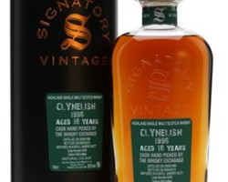 Clynelish 1996 , 18 yo Cask #6509 – Signatory Exclusive for TWE