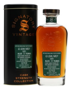 TWE Exclusive: Glenlivet 1981  33yo, signatory Cask # 9464 – Review