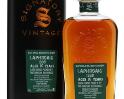 More Signatory Goodness : Laphroaig 1998 / 16yo / Signatory cask #700389 – Exclusive for TWE