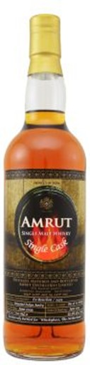 Amrut 2009 cask #3434 WhiskyBase NL exclusive, ex-Bourbon