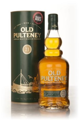 More Old Pulteney–visitng the  21 yo