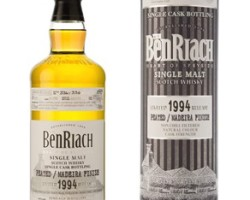 BenRiach 20 Year Old 1994 (cask 5626) Peated, Madeira Cask Finish