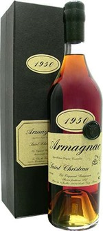 More Armagnac for Passover : Saint Christeau vintage 1950