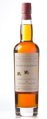 More French whisky : G.Rozelieures Whisky Tourbé Collection