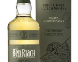 BenRiach peated  quarter casks – Review and notes
