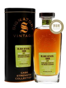 Blair Athol 1988 (Signatory Vintage) Exclusive for TWE
