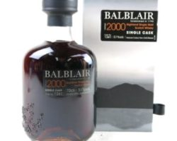 Balblair 2000-2014, Single sherry cask #1341 A.K.A – 'The Black Balblair'