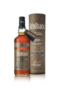 Benriach single cask batch 14  vintage 2008 Peated Marsala cask #7880