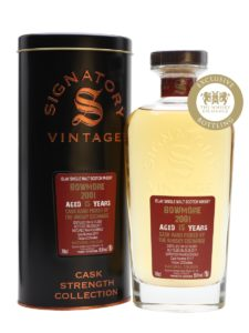 Bowmore 2001  15 Year Old (cask #20117)- TWE Exclusive Signatory