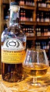 Golan Heights distillery – Brewer's Whisky BBX Amber (Distilled Beer)