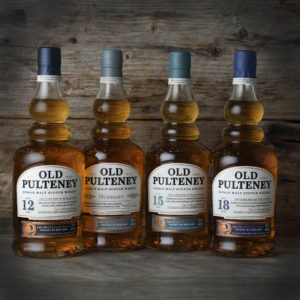 New 'Old Pultney' core range – Huddart / 15 yo / 18 yo
