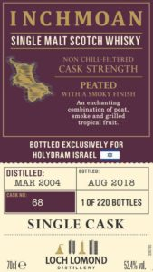Introducing Holy Dram Single cask  – Inchmoan 14 yo Cask #68